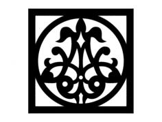 design fil 0002 Free Dxf File for CNC