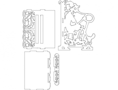 pinocchio Free Dxf File for CNC