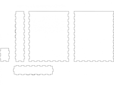 boxpaper Free Dxf File for CNC