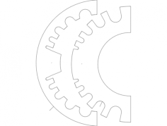 hose holder Free Dxf File for CNC
