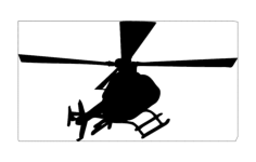 heli Free Dxf File for CNC