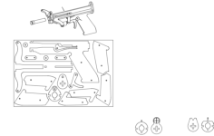 working crossbow Free Dxf File for CNC