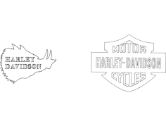 harley davidson Free Dxf File for CNC