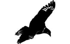 flying eagle Free Dxf File for CNC