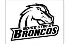 boise state broncos Free Dxf File for CNC