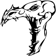 skull 015 Free Dxf File for CNC