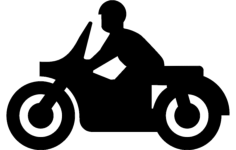 motorcycle Free Dxf File for CNC