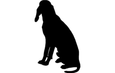 dog for hunting Free Dxf File for CNC