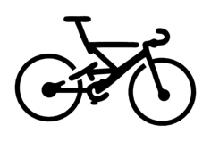 bike Free Dxf File for CNC