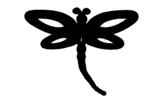 dragonfly single  Free Dxf File for CNC