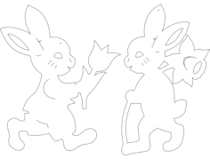 hase-t-o(1) Free Dxf File for CNC