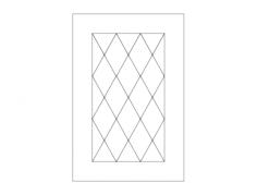 elegant door design Free Dxf File for CNC