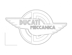 ducati meccanica Free Dxf File for CNC