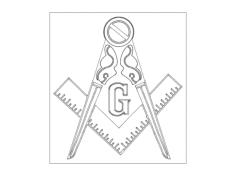 freemason Free Dxf File for CNC