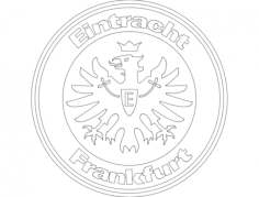 eintract frankfurt Free Dxf File for CNC
