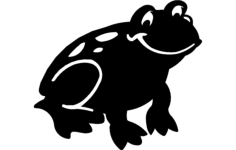 frog Free Dxf File for CNC