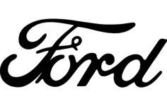 ford cut Free Dxf File for CNC