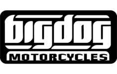 big dog motorcyles Free Dxf File for CNC