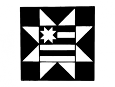 barn quilt-12in Free Dxf File for CNC