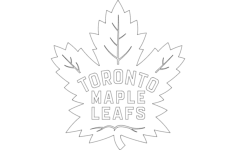 maple leafs Free Dxf File for CNC