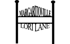 margaritoville Free Dxf File for CNC