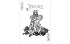 joker 808 Free Dxf File for CNC