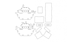 noahs ark Free Dxf File for CNC