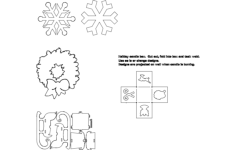 winter things Free Dxf File for CNC