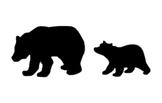 bearFree Dxf File for CNC