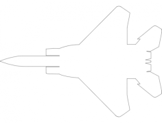 f15 Free Dxf File for CNC