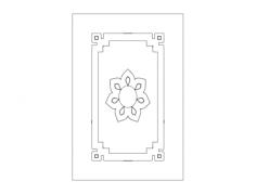 ضرفة مطبخ 14 Free Dxf File for CNC