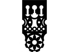 design pol 0002 Free Dxf File for CNC