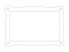 nice frame Free Dxf File for CNC