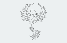 pheonix Free Dxf File for CNC