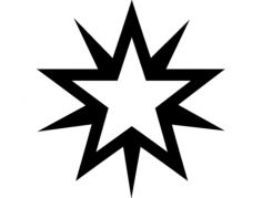 starburstwt Free Dxf File for CNC