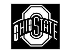 ohio state laser 01 Free Dxf File for CNC