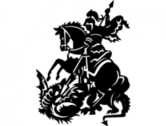 saint george Free Dxf File for CNC
