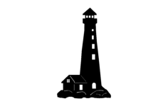 lighthouse Free Dxf File for CNC