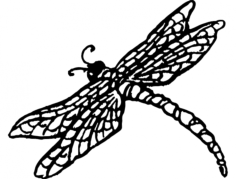 dragonnfly Free Dxf File for CNC