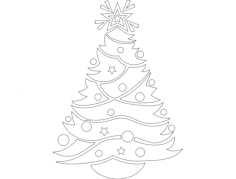 festive things 05 Free Dxf File for CNC