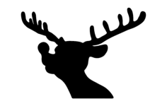 rudolph Free Dxf File for CNC