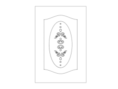 pattern design doors Free Dxf File for CNC
