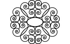 decorative design Free Dxf File for CNC