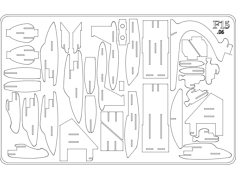 f15 puzzles Free Dxf File for CNC
