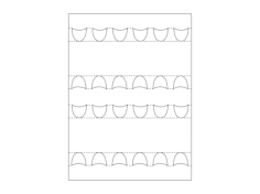 box template Free Dxf File for CNC