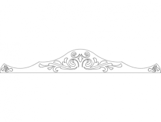 ornament 18 Free Dxf File for CNC
