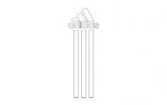 adidas na telefon Free Dxf File for CNC
