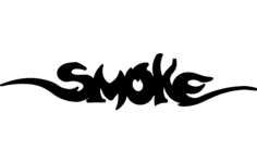 smoke Free Dxf File for CNC