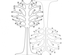 arvoresdenatal (christmas trees) Free Dxf File for CNC