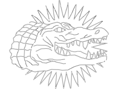 gator Free Dxf File for CNC